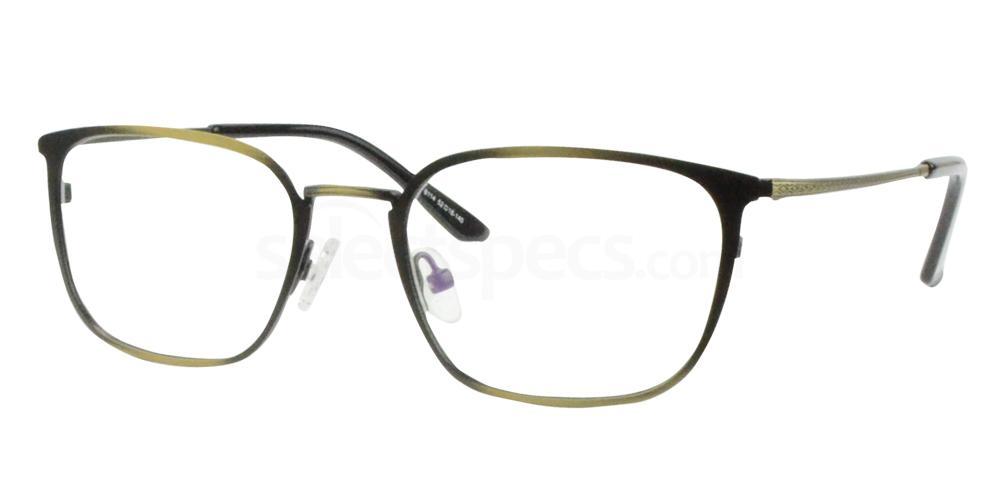 Antique Gold/Black 8114 Glasses, Sigma