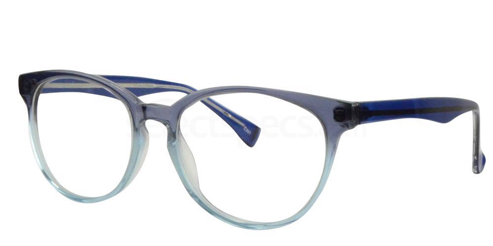 Smoke/Blue BL8025 Glasses, Sigma