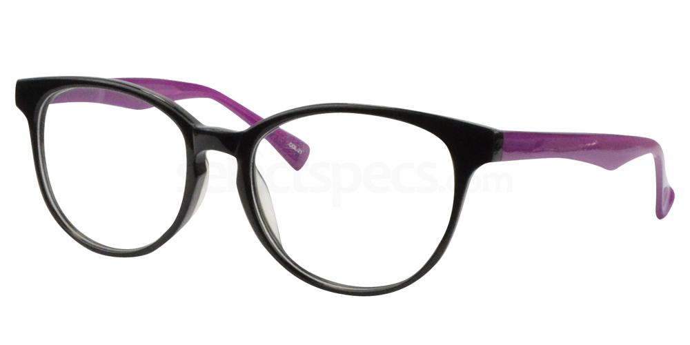 Black/Purple BL8025 Glasses, Sigma