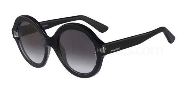 Valentino V698S round sunglasses