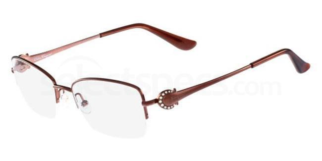 210 SF2132R Glasses, Salvatore Ferragamo