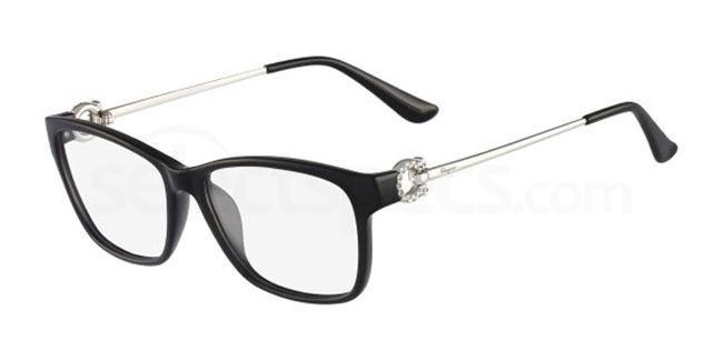 001 SF2705R Glasses, Salvatore Ferragamo