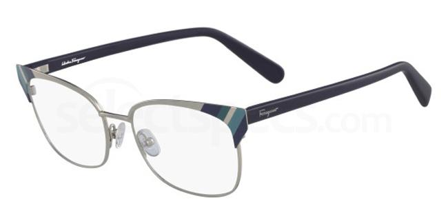 714 SF2160 Glasses, Salvatore Ferragamo