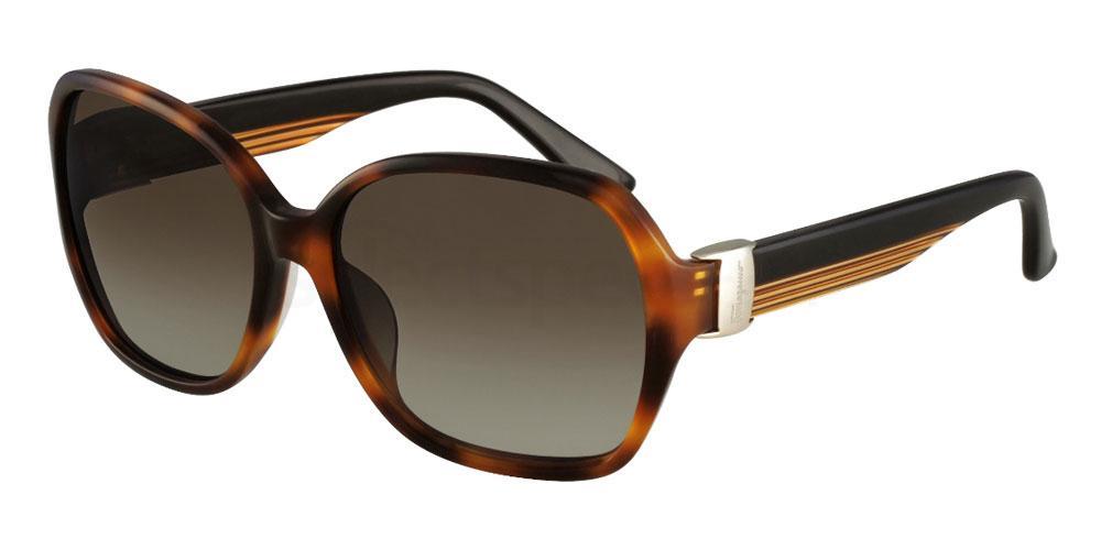 214 SF650S Sunglasses, Salvatore Ferragamo