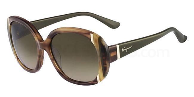 216 SF674S Sunglasses, Salvatore Ferragamo