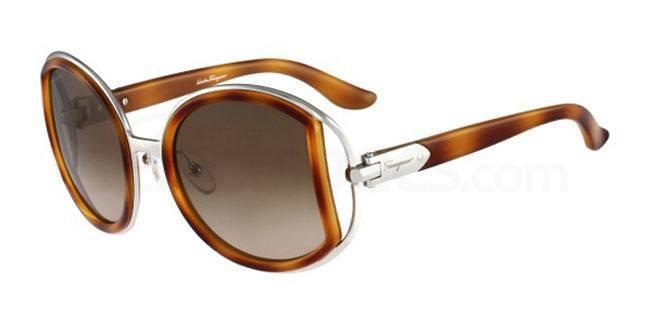 212 SF719S Sunglasses, Salvatore Ferragamo