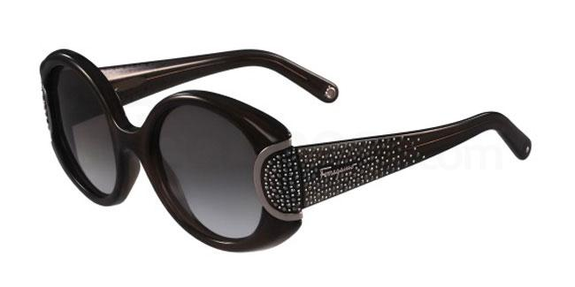 057 SF811SR SIGNATURE Sunglasses, Salvatore Ferragamo