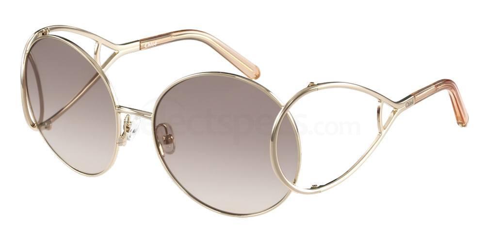chloe sunglasses round boho