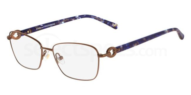 208 DVF8041 Glasses, DVF