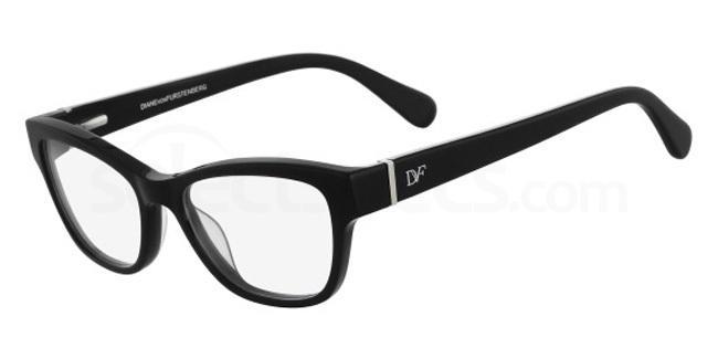 001 DVF5080 Glasses, DVF