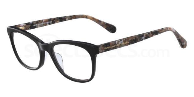 001 DVF5093 Glasses, DVF