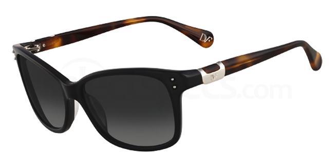 001 DVF568S LAYLA Sunglasses, DVF