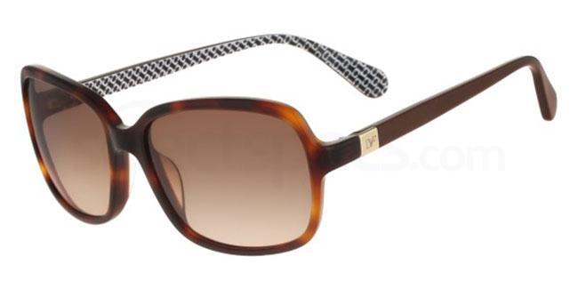 240 DVF598S KRISTEN Sunglasses, DVF