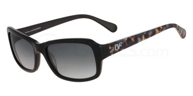 001 DVF607S ANGELINA Sunglasses, DVF
