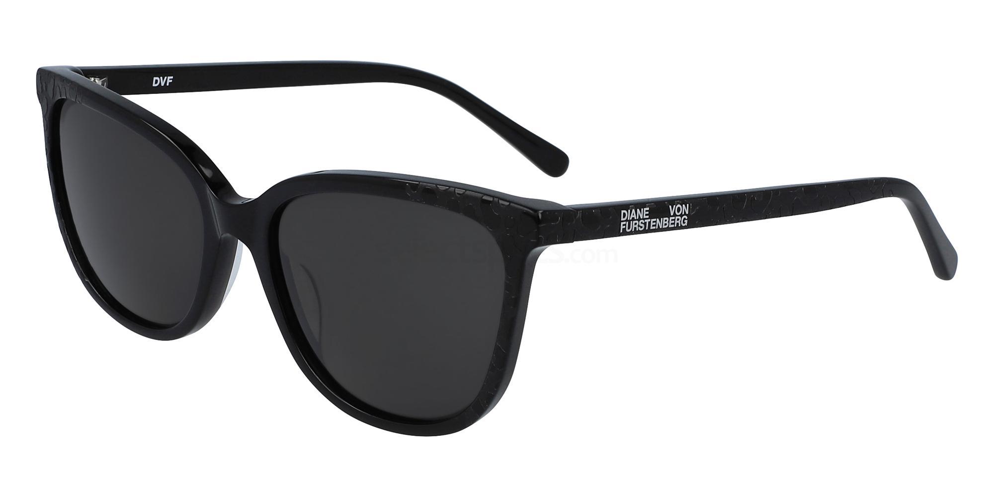 001 DVF680S GLENDA Sunglasses, DVF