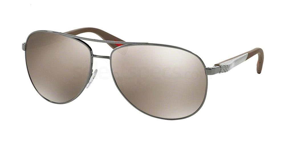 5AV1C0 PS 51OS (1/2) Sunglasses, Prada Linea Rossa