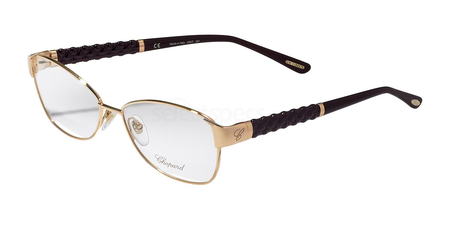 08FC VCH964 - 23KT Gold Glasses, Chopard