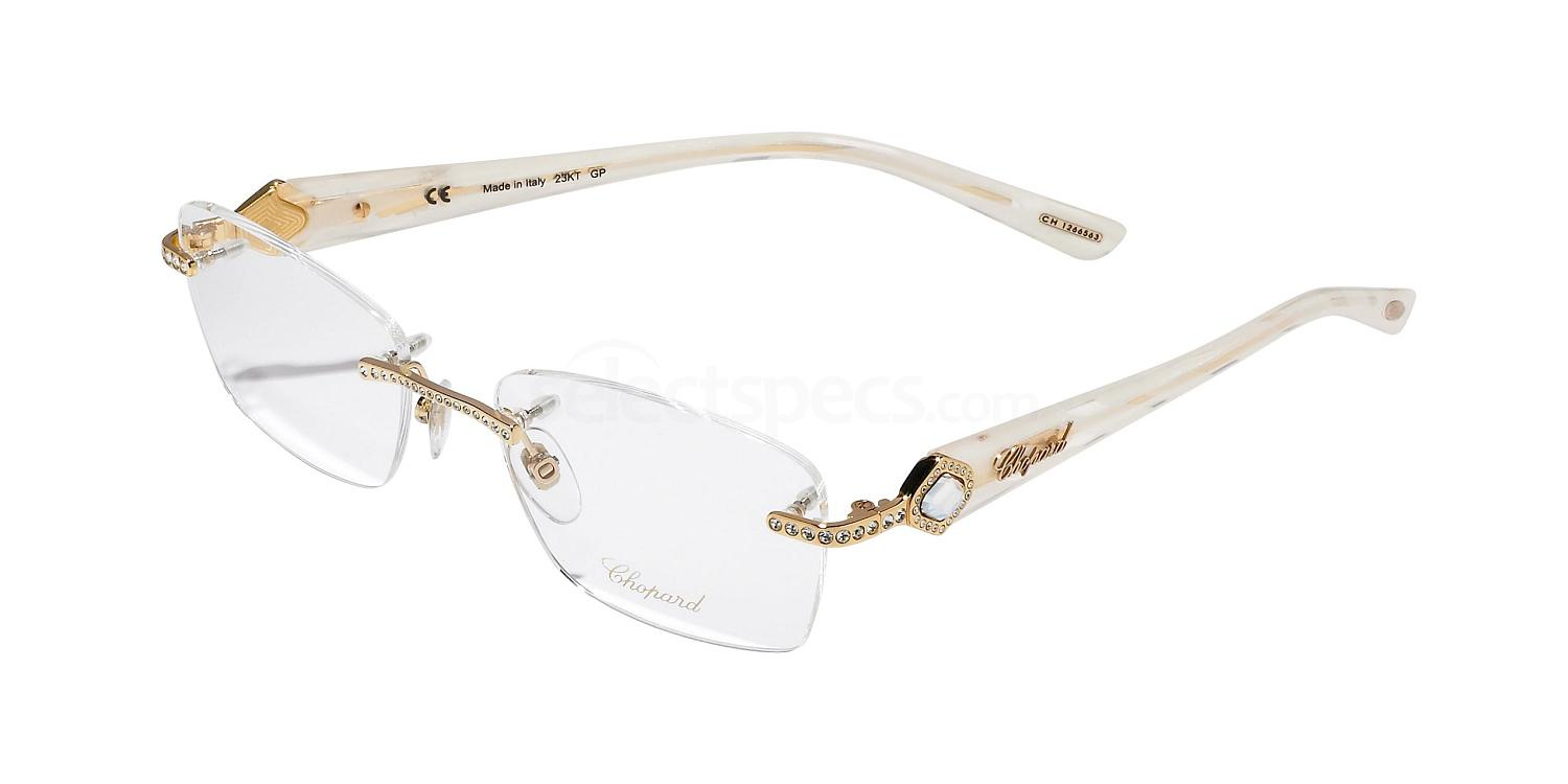 0300 VCHA33S - (23KT Gold Plated) Glasses, Chopard