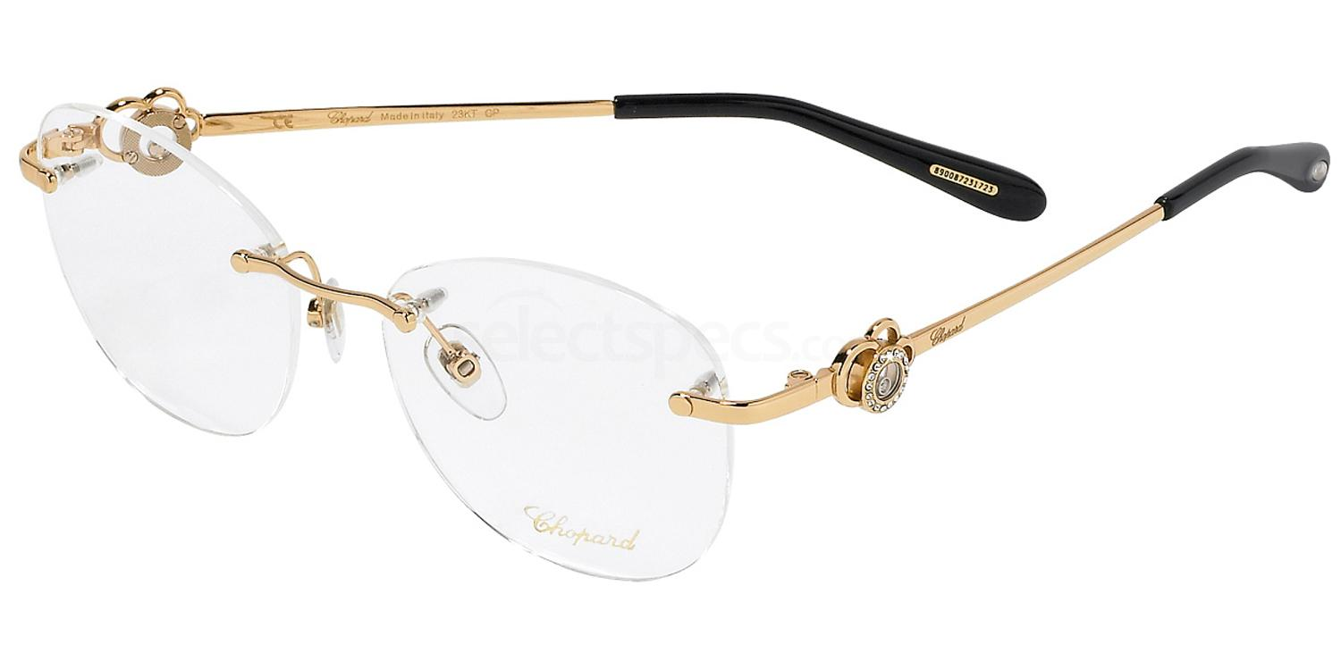 0300 VCHC35S - (23KT Gold Plated) Glasses, Chopard
