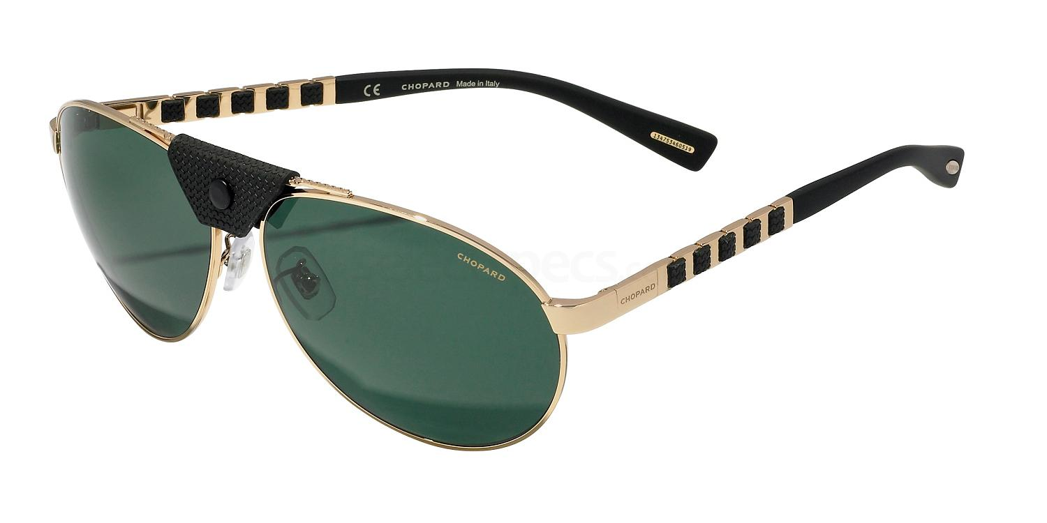 Chopard 2016: green lenses sunglasses