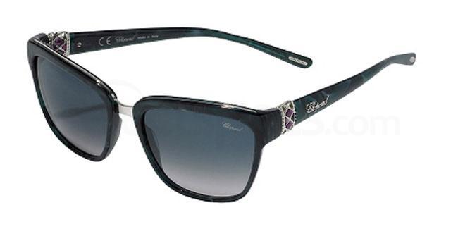 06U9 SCH210S Sunglasses, Chopard