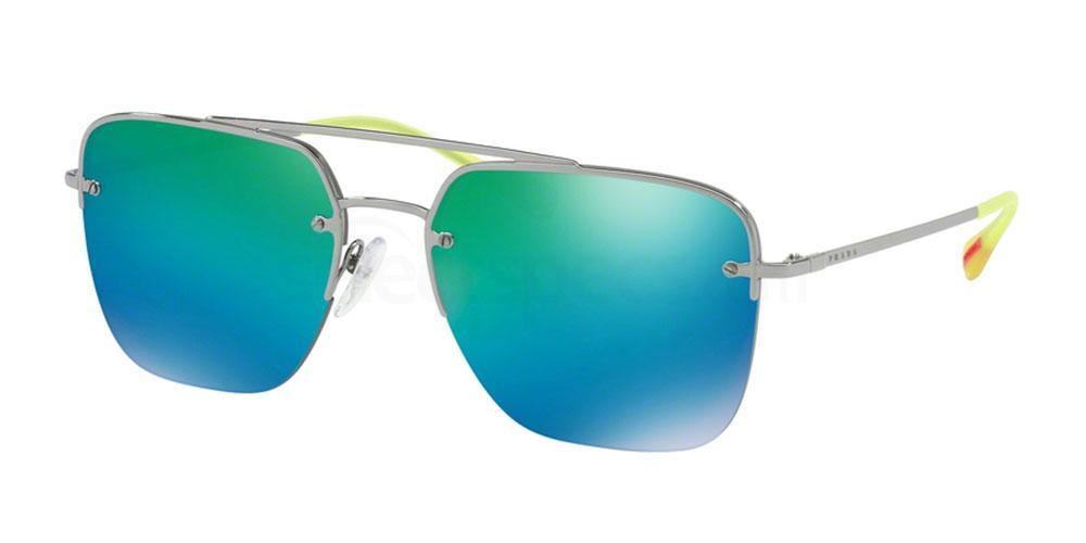 5AV6U2 PS 54SS Sunglasses, Prada Linea Rossa