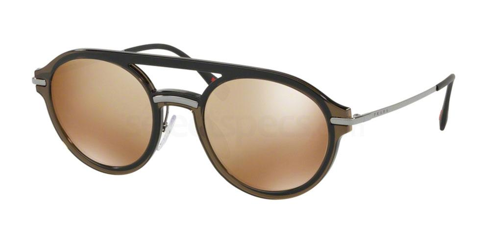 5N9HD0 PS 05TS Sunglasses, Prada Linea Rossa