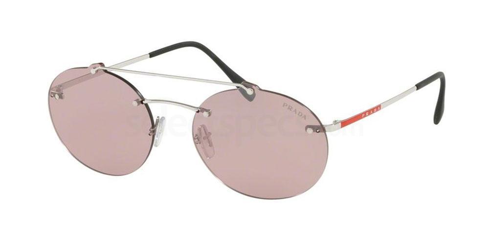1BC214 PS 56TS Sunglasses, Prada Linea Rossa