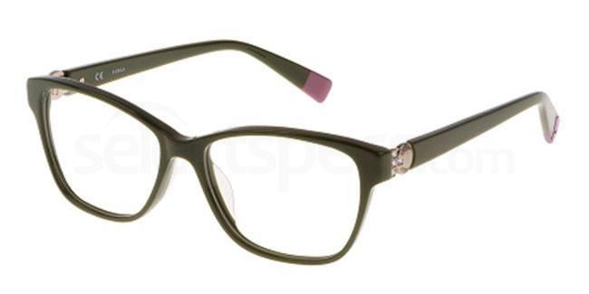 09FB VU4947S Glasses, Furla