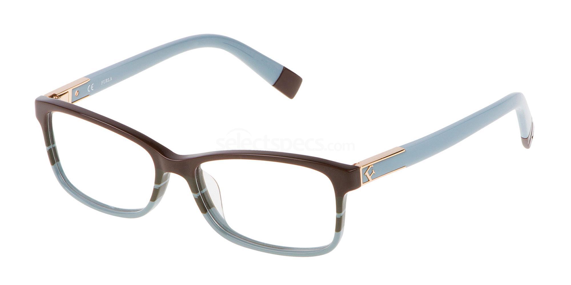 0AEM VU4976 Glasses, Furla
