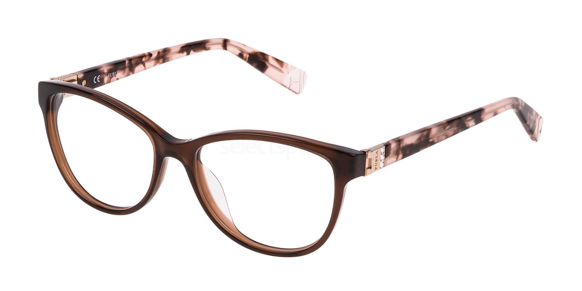 06W8 VFU002S Glasses, Furla