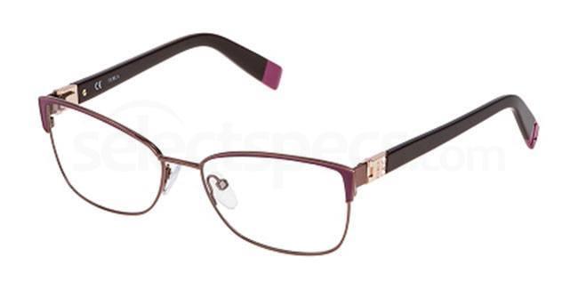 01HE VU4351S Glasses, Furla