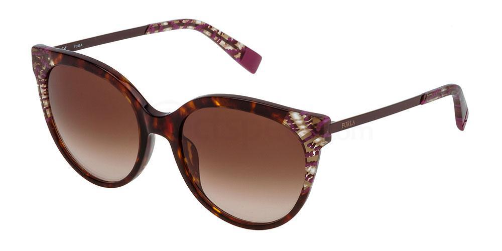 0743 SFU149 Sunglasses, Furla