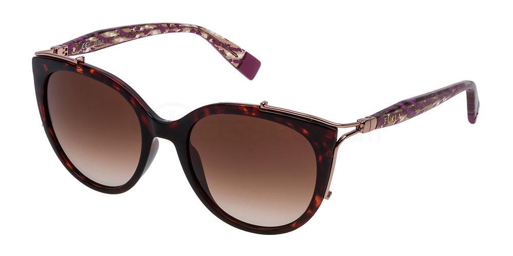 0722 SFU151 Sunglasses, Furla