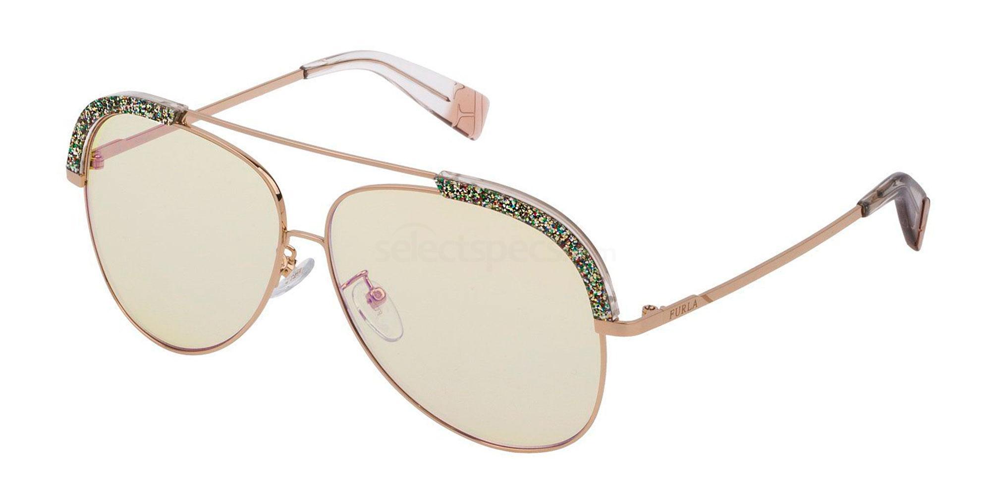 300X SFU284 Sunglasses, Furla