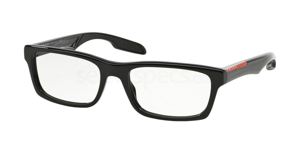1AB1O1 PS 07CV Glasses, Prada Linea Rossa