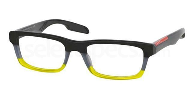TWU1O1 PS 07CV Glasses, Prada Linea Rossa