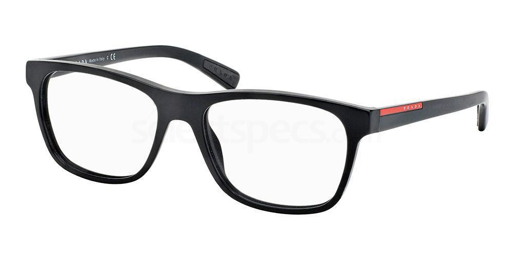 1BO1O1 PS 01FV Glasses, Prada Linea Rossa