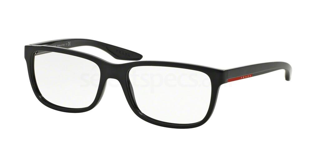 UB71O1 PS 02GV Glasses, Prada Linea Rossa