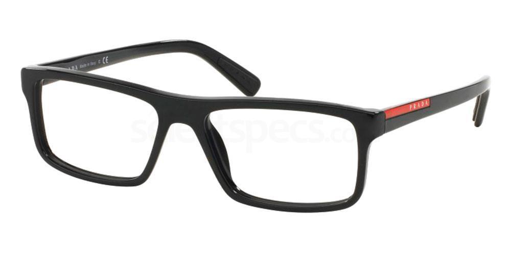 1AB1O1 PS 04GV Glasses, Prada Linea Rossa