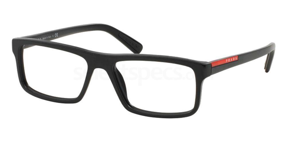 1BO1O1 PS 04GV Glasses, Prada Linea Rossa