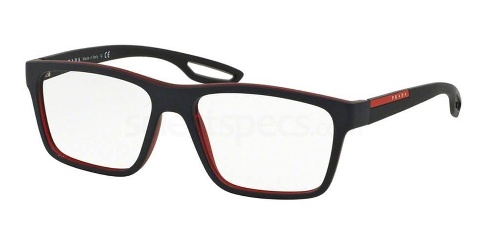UAS1O1 PS 07FV Glasses, Prada Linea Rossa