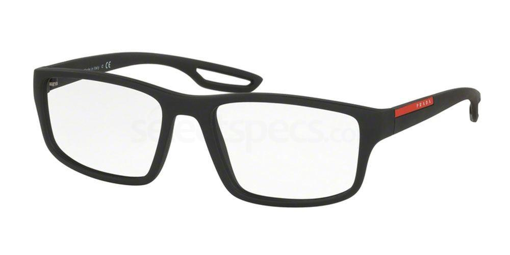 DG01O1 PS 09GV Glasses, Prada Linea Rossa