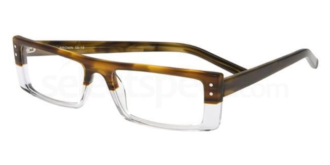 Bella Brown P043 Glasses, Booth & Bruce Design