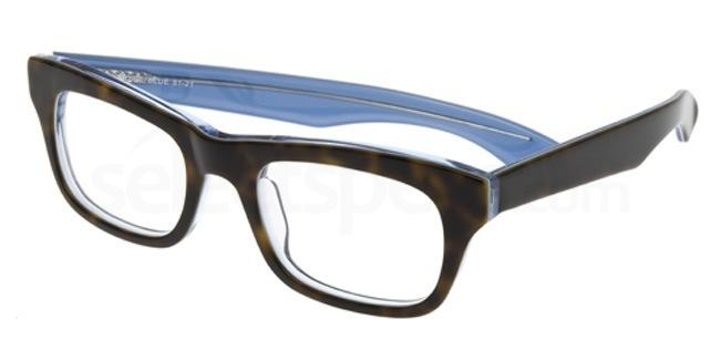 Tortoise Blue P049 Glasses, Booth & Bruce Design