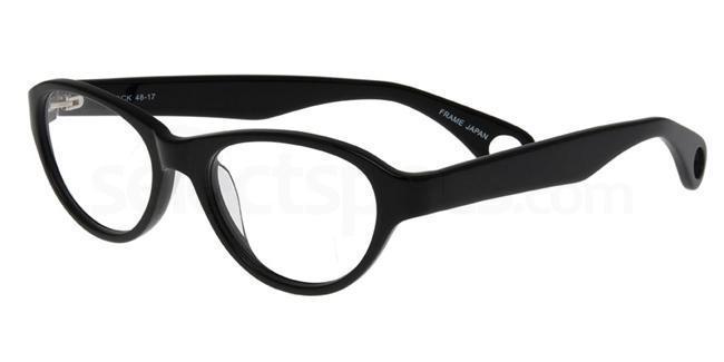 Black P059 Glasses, Booth & Bruce Design