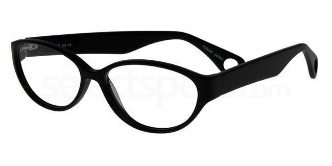 Black P060 Glasses, Booth & Bruce Design
