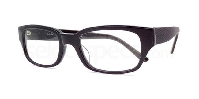 Black P020 Glasses, Booth & Bruce Design