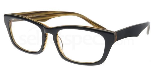 Black and Havana P028 Glasses, Booth & Bruce Design