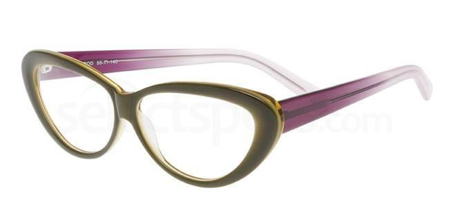 Pea Pod P034 Glasses, Booth & Bruce Design